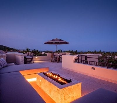 Lapp of Luxury Palmilla Dunes Rooftop Firepit!