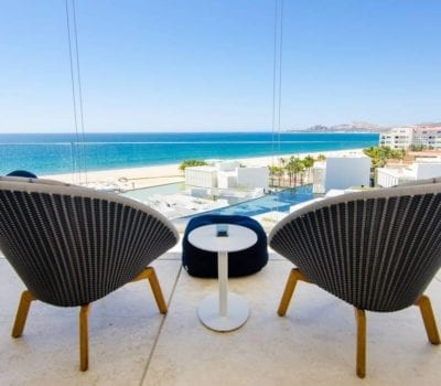 balcony of a cabo vacation rental
